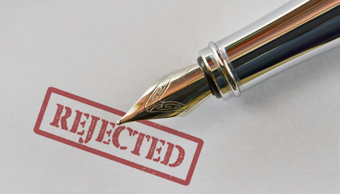 Factoring Application Rejected