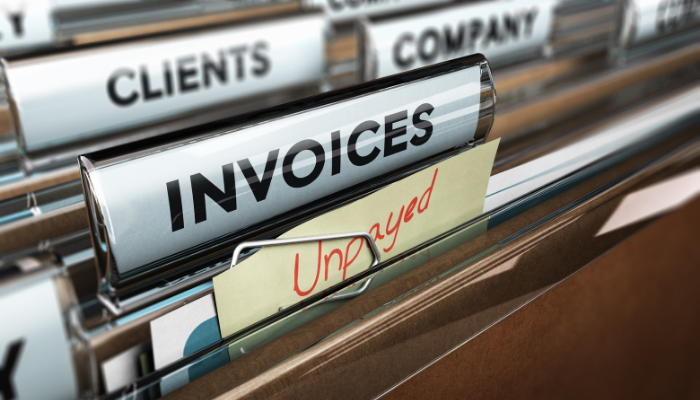 Too Many Unpaid Invoices